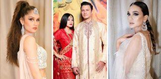 Gaya Bollywood artis Indonesia