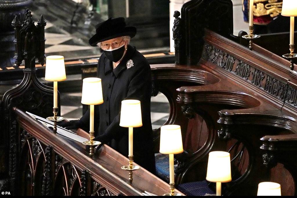 Ratu elizabeth pemakaman pangeran philip