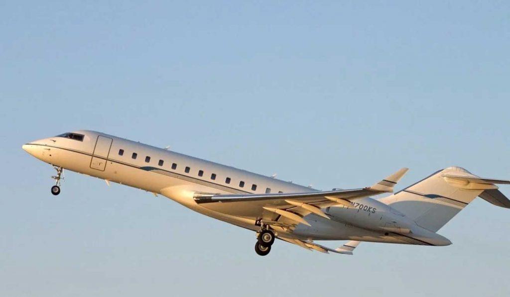 jenis pesawat jet pribadi bill gates