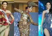 kostum gaun ayuma di miss universe putri miss indonesia 2020